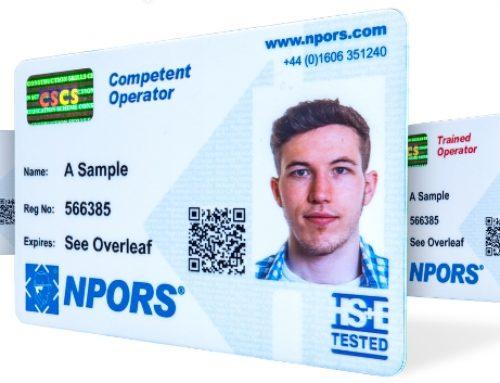NPORS Card Membership