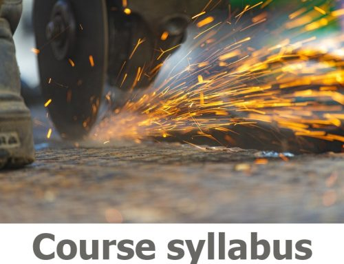 N301A Abrasive Wheels Awareness Course Details