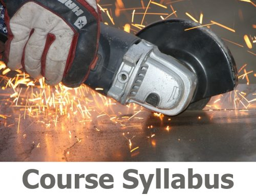 N301 Abrasive Wheels course details with practical cutting and grinding