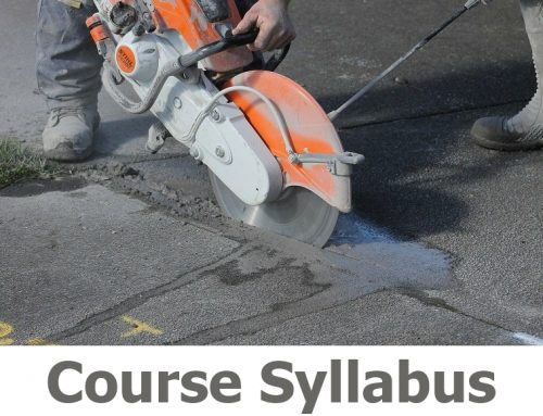 N017 Abrasive Wheels Cut off saw Course Details