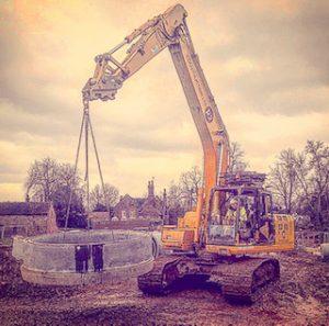N100 Excavator as a Crane