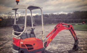 N016 Micro Excavator